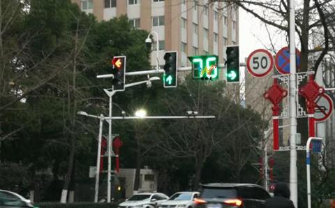 庆阳400型交通信号灯显示多长时间