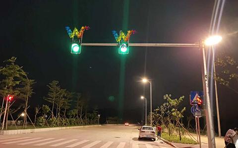 满屏红绿灯
